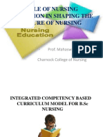 Role of Nursing Education in Shaping the Future