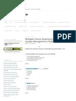 Quality Management Methodology - Total Quality Managemen