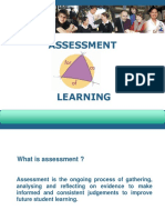 Assessment as for of Learning