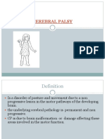 4. Cerebral Palsy 08.04.15 Lecture