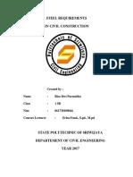 Steel Requirements