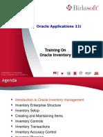 Oracle Inventory Module-APL