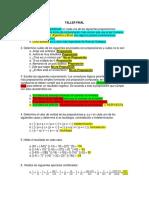 Tablas de verdad y álgebra lineal