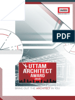 Brochure - Uttam Architect Award 2018