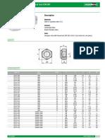 07215 Datasheet 18390 Hexagon Nuts With Thread Lock DIN 980--En