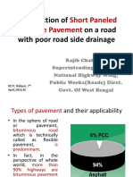Construction of Short Paneled Concrete Pavement on a.pptx