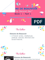 Simone de Beauvoir Ppt
