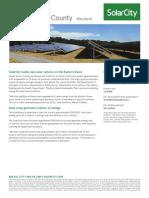 Solar city study case