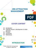 Power Point Presentation on Visitors Attraction Management