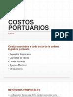 Costos Portuarios Perú