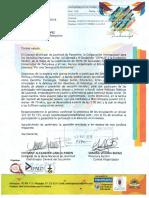 Concejo Municipal de Juventud Pamplona Solicitud Rad. 3238