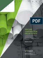 Pricing Contractor Delay Costs