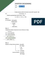 Inverter & Module Sizing