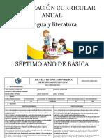 Pca Séptimo Lengua y Literatura