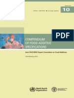 FAO-JECFA Monographs Vol 10