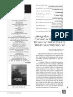 Chủ Quyền Của Việt Nam ở Hoàng Sa Và Trường Sa Trong Thế Kỷ 17-19 Tư Liệu Và Sự Thật Lịch Sử - Nguyễn Quang Ngọc