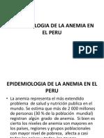 Epidemiologia de La Anemia en El Peru3