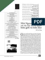 Nhà Nguyễn Với Việc Bảo Vệ Chủ Quyền Biên Giới Và Biển Đảo - Đỗ Văn Dũng