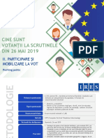 Ires_profilul Votantilor La Scrutinele Din 26 Mai 2019_ii_participare Si Mobilizare La Vot