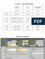AR TRansactions– User Manual