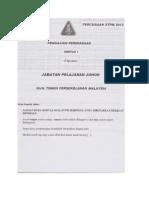 Johor Soalan Trial PP1 2012