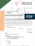 Bjp, Inc, Ncp, Shivsena, Bsp, Jap