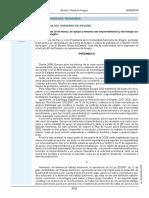 Ley 7-2019 Apoyo Fomento Emprendimiento Autónomo en Aragón