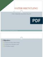 Chromic Acid Rinse Water Recycling