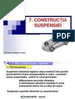 Tema 7 Constructia Suspensiei