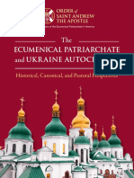 The Ecumenical Patriarchate and Ukraine Autocephaly
