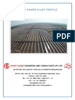 Solar Power Plant Profile