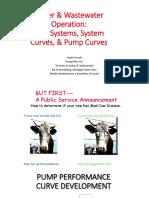 _System Curves-Pump Curves