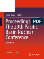 Hong Jiang (Eds.) - Proceedings of the 20th Pacific Basin Nuclear Conference_ Volume 3 (2017, Springer Singapore)