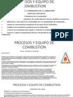 procesos de equipos y combustion