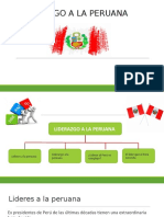 Ppt Liderazgo a La Peruana