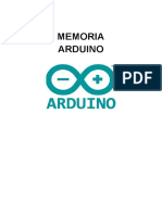 Memoria Arduino