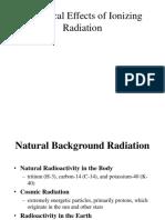 Effects Radiation