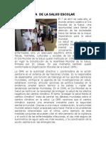 Dia de La Salud Escolar (7 de Abril)