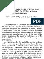 Estatuto Dos Indfgenas Portugueses