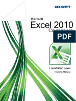 315140926 Excel 2010 Training Manual LearnIT PDF