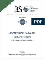 UIBS admissions catalog graduate MMXVIII.pdf