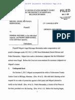 U.S. District Judge Susan P. Watters Decision