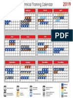 2019 HYDAC Technical Training Calendar..