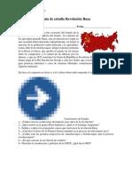 Guía de Estudios Revolución Rusa