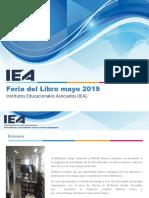 Presentación Feria Del Libro Consejo Directivo