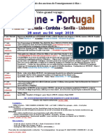 Adel Voyagett Espagne Portugal - 28 Aout 19