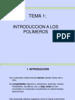 Polímeros Introducción