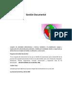 Conceptos Fundamentales -Gestión Documental