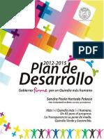 Plan de Desarrollo 2012-2015 Final