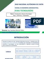 Introducción a Nuevas Tecnologías - Agua